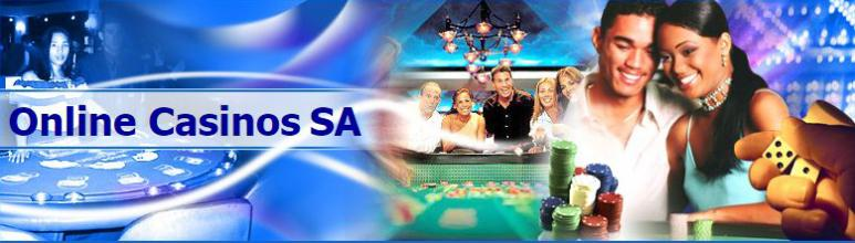 online casinos SA with players and casino games